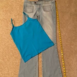 Women's pants and matching tank top